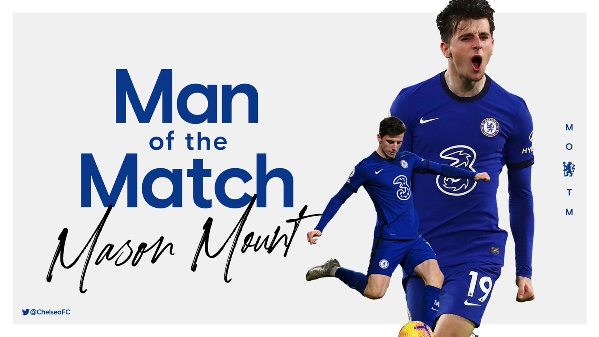 83.3% of the vote! @MasonMount_10 is your clear #FULCHE MOTM! 👏🏅