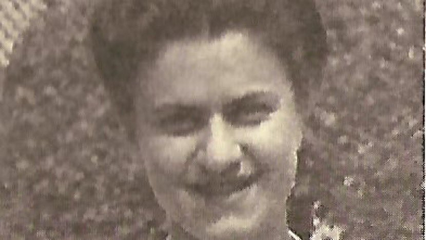 As #HolocaustRemembranceDay nears, let's recall MILA RACINE.   A French Jew, she joined the underground after German occupation of France.   She smuggled Jewish children to neutral Switzerland.   Arrested by the Nazis in 1943. Killed in #Mauthausen in 1945.   Mila was my cousin.