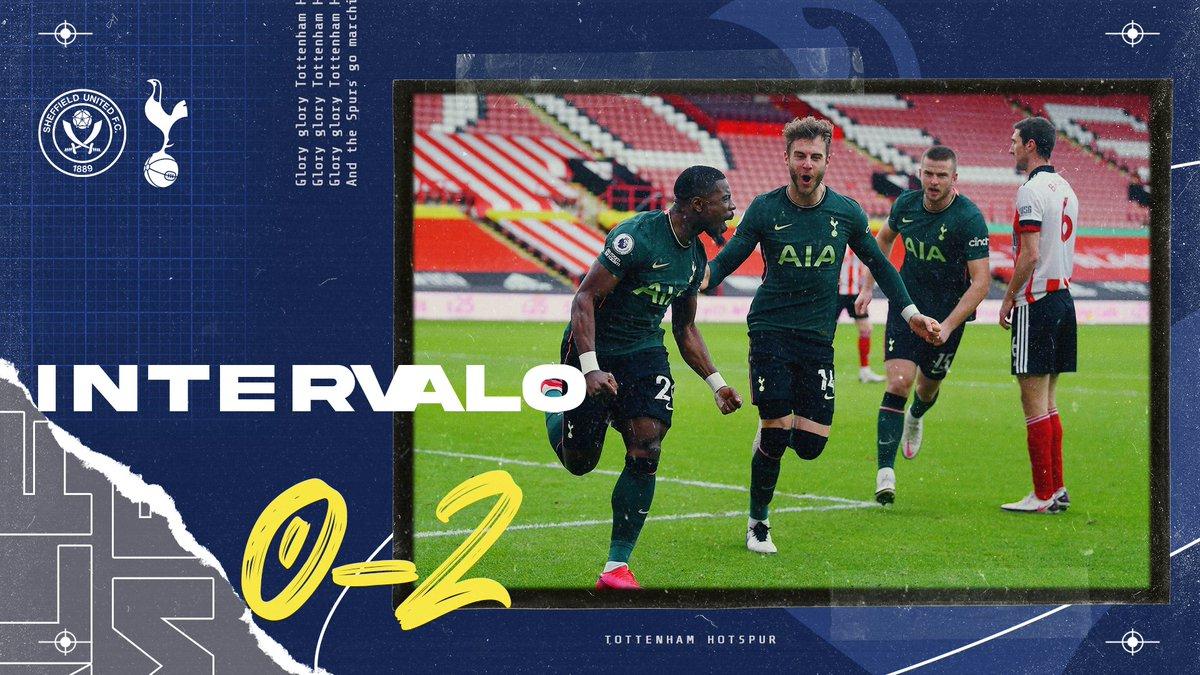 Vamos batendo o Sheffield e subindo para terceira posição da Premier League!   #COYS #PremierLeagueNaESPN
