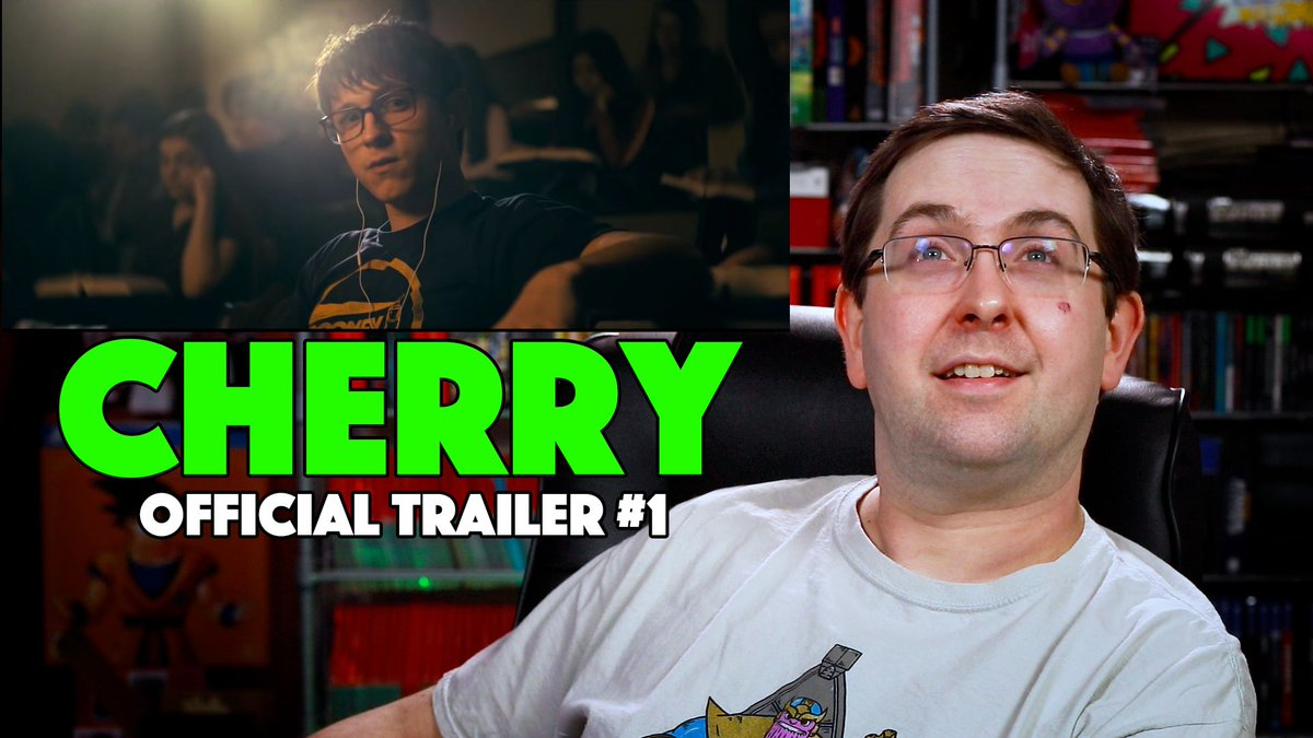 #Cherry Trailer Reaction here:   This #TomHolland movie by the #RussoBrothers is looks really good! Enjoy!