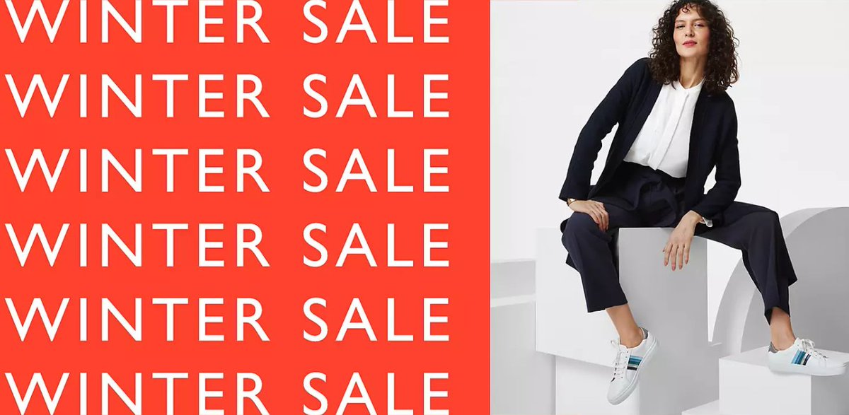 Winter #Sale now on at John Lewis & Partners. More of what you love for less