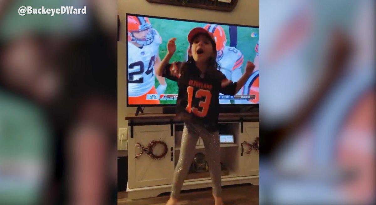 Replying to @NFLGameDay: .@Browns fans everywhere were celebrating last weekend 🧡