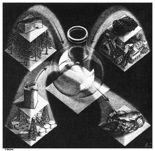 Synthesis, 1947 #mcescher #escher