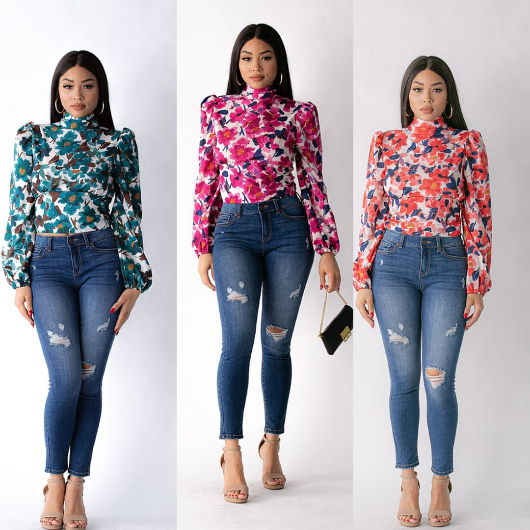 Check out our new Issa Mira Flower Blouse. Comes in these 3 wonderful colors and has a fun cut-out in the back. Get at https://t.co/HinBsJvj6W . . . #NewPost #SmallBusiness #supportlocal #Chicago #fashionblogger #business #Marketing #branding #beautiful #Flowers https://t.co/KsdOLw2CA2