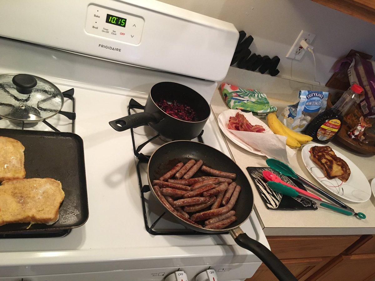 Breakfast for game day ! #gobrowns #browns #wewantmore #playoffs #breakfast #sundayfunday