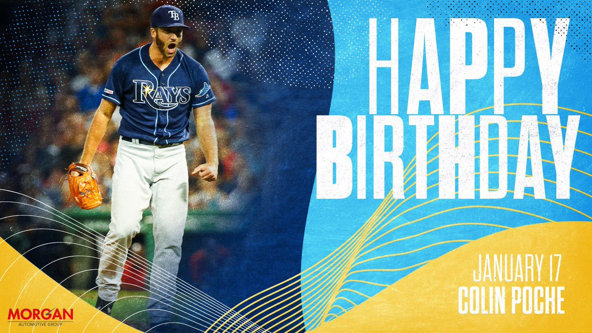 Hey, hey @colinpoche... it's your birthday! 🥳