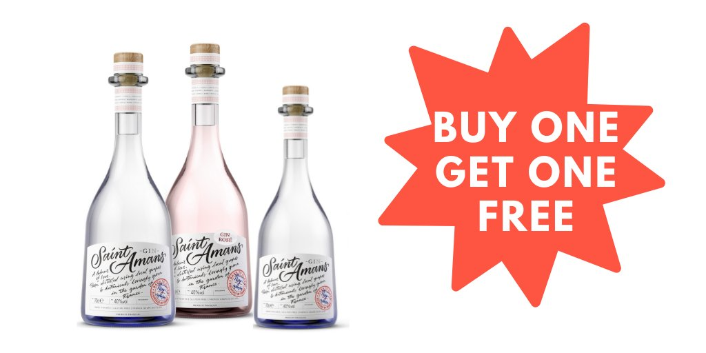 SPECIAL OFFER: Get an extra bottle of Saint Amans Gin Original #FREE when you buy a Saint Amans Gin Duo! Grab this limited time deal here:  #special #offer #sale #saintmans #gin #france