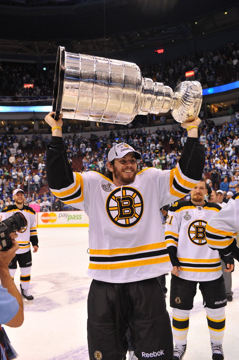 The #NHLBruins congratulate Adam McQuaid on a terrific NHL career and wish him the best in his retirement.   Thank you for all you did to help bring the Cup back to Boston!