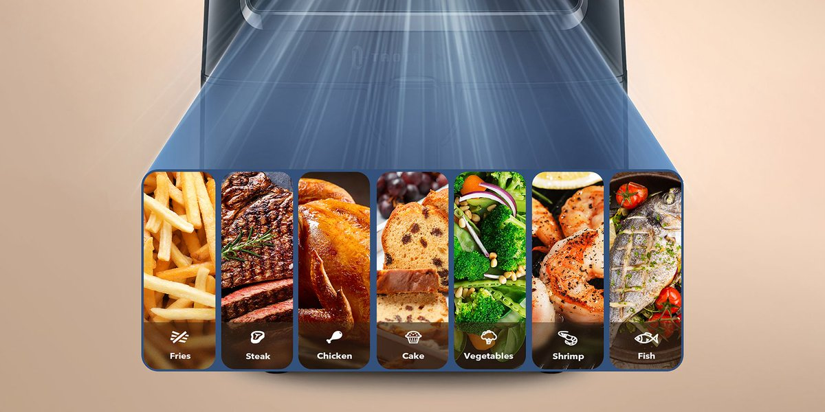 With 11 preset menus and a cookbook containing 50 popular recipes, you will be able to open your palate up to a wonderful fresh and unique world of flavor. 🤗 More info here 👇 https://t.co/k2FYvpfEf5 https://t.co/uCTG0NDruX