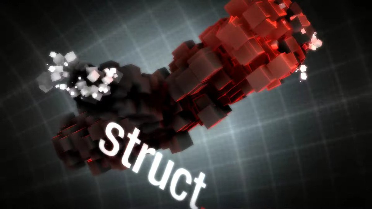 Struct by Outracks  🎺   🎥   This #windows demo placed 3rd at @gatheringorg in 2011 🥉  #demoscene 💎 #creative #programming #realtime #3d #graphics #visuals #pixels #particles #effects #electronicmusic #computerart #digitalart #art