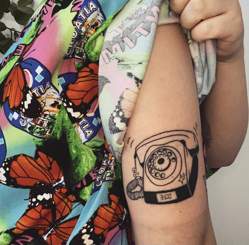 happiest birthday to my favourite album in the world, manic ✨   i got my own 3am design tatted to celebrate manic and to appreciate one of my favourite songs ever made ⏰📞  within the tracks of this album my hopeless soul found home 🤍   i love u @halsey ✨#manicanniversary