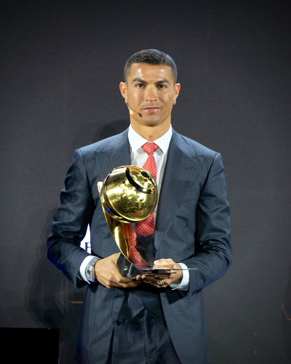 👑 Cristiano Ronaldo of Juventus and Portugal crowned 'Player of the Century' at the 2020 #GlobeSoccer Awards 👉 Will CR7 win 2020-21 Serie A's Capocannoniere race?
