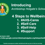 Image for the Tweet beginning: Introducing the AHS 4 steps