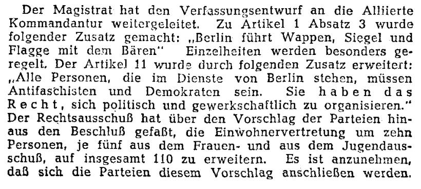 """""""Alle Personen, die im Dienste von Berlin stehen, müssen Antifaschisten und Demokraten sein."""" @Ta…"""