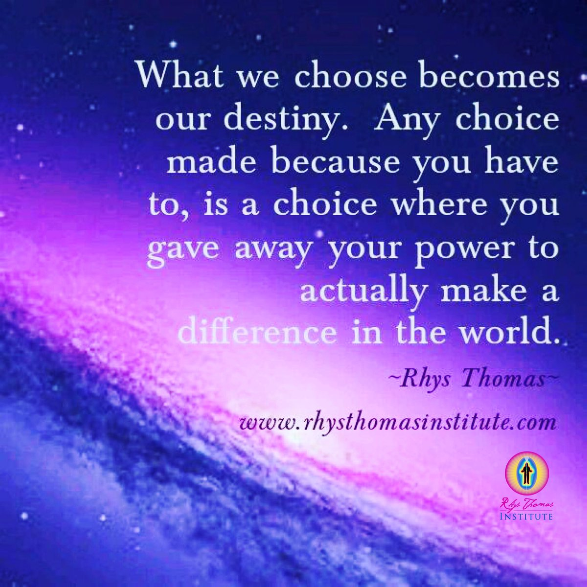 #destiny #choices #power #love #makeadifference #spiritualawakening #liveyourbestlife #energyhealing #sundayvibes #SundayThoughts