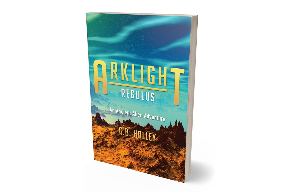 """ARKLIGHT Regulus - The exciting conclusion to the ARKLIGHT Ancient Alien Adventure trilogy.                   We are not alone! Dangerous encounters await. """"What a story!"""" #SundayMorning  #books @PenguinUKBooks #thriller #UFO #writers #IARTG #Reading #Alien"""