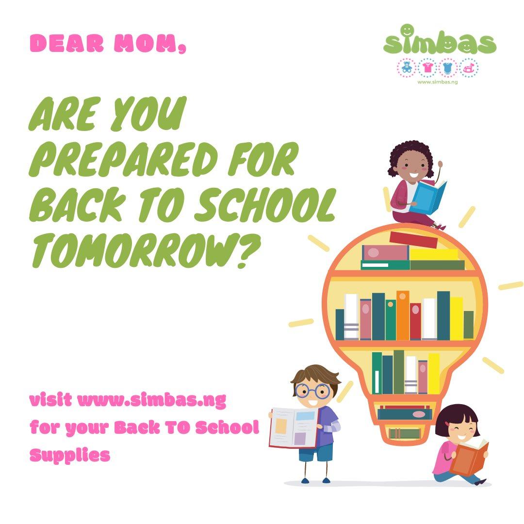 Dear mom, are you prepared for back to school tomorrow? #Uber #birthday #sundayvibes #homeschooling2021