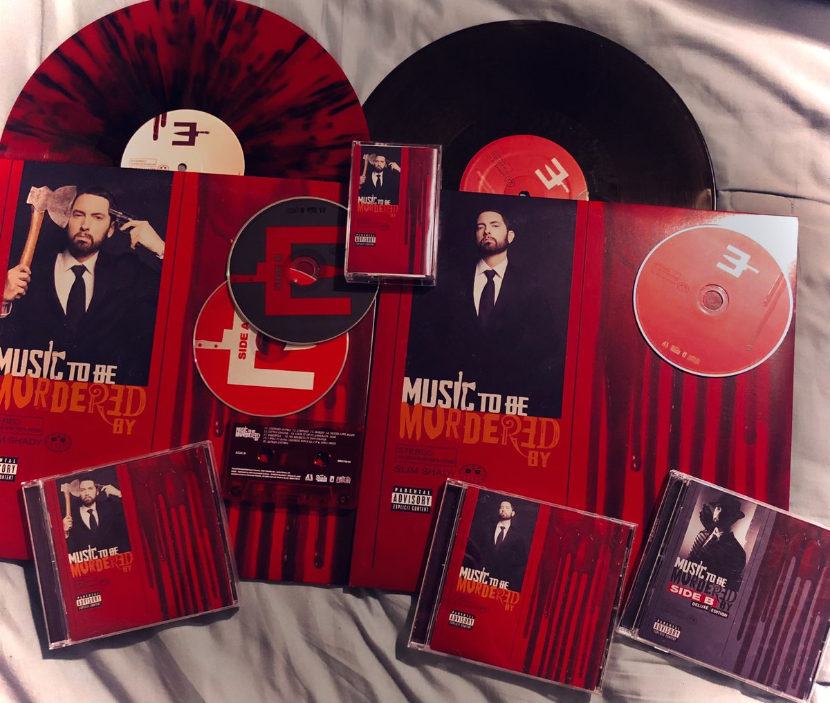 1 Year of Eminem's Music To Be Murdered By   MTBMB   MTBMB B SIDE DELUXE   #MTBMB