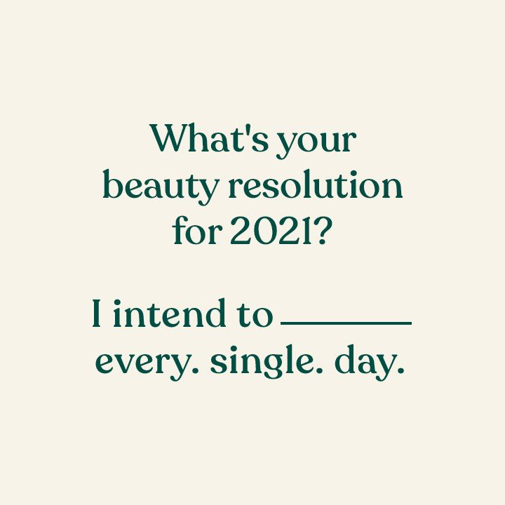 We're talking #SelfcareSunday! What's one habit you wish to follow each day of this year to improve your skin? After all, it's your first line of address in this world! Tell us. Your resolution could inspire someone else too! #TheBodyShopIndia #TBSInd #SelfcareSunday #Resolution