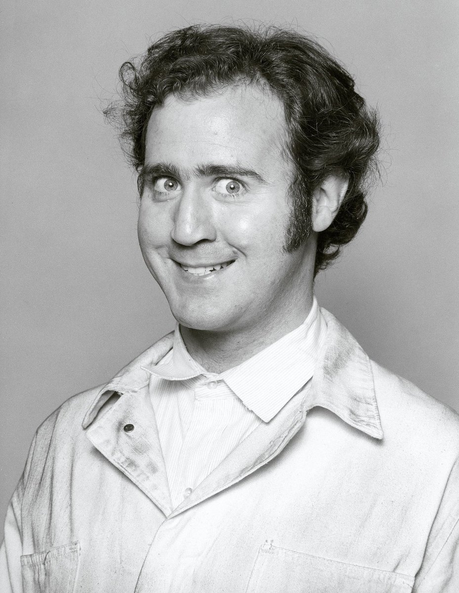 Today would have been (or is?) Andy Kaufman's 72nd Birthday. The guy did it all TV, Movies and Wrestled Jerry Lawler. #AndyKaufman #Taxi #Memphis #JerryLawler #DavidLetterman #Latka #TonyClifton #ManontheMoon