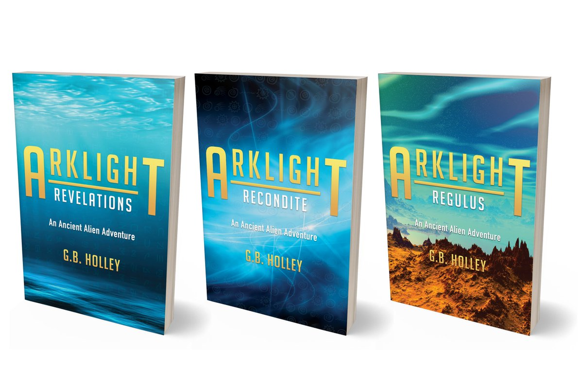 """A mysterious marker found in the Bahamas. An alien controlled POTUS. We are not alone! Why are they here? Danger awaits. The ARKLIGHT Ancient Alien Adventure trilogy. """"Wonderful."""" #sundayvibes #writers #author #Reading #book #scifi #MYSTERY #IARTG #WritingCommunity #Aliens #UFOs"""
