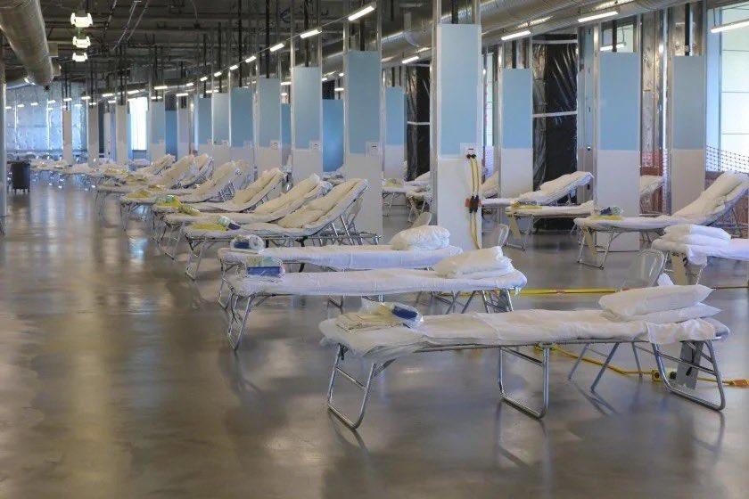 Spanish Flu style COVID units in California #SundayThoughts #Coronavirus #COVID19 #COVID_19