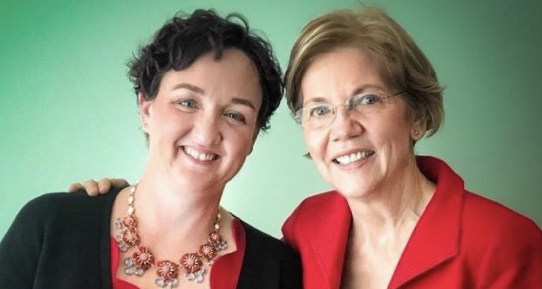 Katie Porter is off the House Financial Services Committee for basically same reason her mentor Elizabeth Warren isn't in Biden's cabinet.  Dumb rules prevent capable elected officials from serving in 2 roles.  Fix that.   Smart women like @RepKatiePorter & @ewarren can do both! https://t.co/4JF2K1ecoA