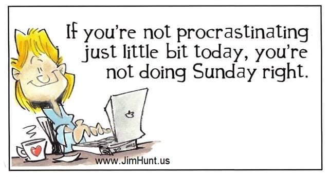 🤣🤣🤣🤣🤣☕🌞🤷♂️ #justsayin #sundayvibes #sundaysunday #sundayfunday #procrastinate #live #havefun #usa🇺🇲 #January #america #2021goals