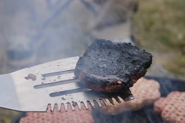 """Replying to @cdingus: people call """"flipping burgers"""" unskilled labor but then give you this at a barbecue"""