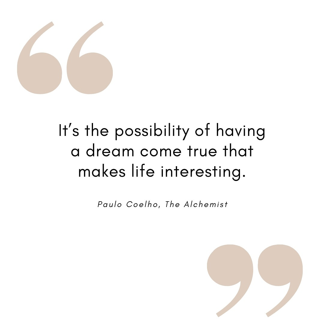 Do you agree with this quote from @paulocoelho in the book #thealchemist ?