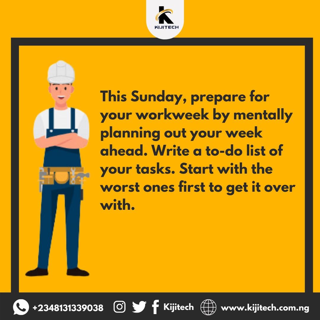 Start your week prepared! #HappySunday #Sunday  #weekend #electricity #UgandaIsBleeding #BobiWine  Boko Haram Odunlade Uber