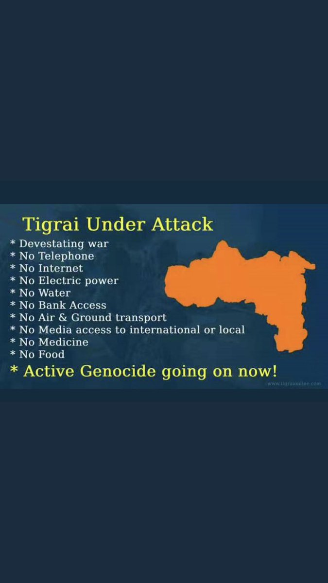 President-elect @JoeBiden today is day75 of #Tigray invasions please help us stop #Genocide against #Tigrayans in our home country #Ethiopia #BidenTakeAction stop #TigrayGenocide  #BidenActNow #TigrayCantWait   #SundayMorning