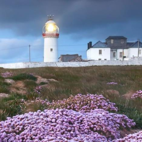What a fab shot of our beautiful Loop Head Lighthouse! Contact  for reservations. #Kilkee #loophead #wildatlanticway #atlanticocean #cliffwalk #CountyClare #beach #surf #seafood #summer #pollockholes #boutiquehotel