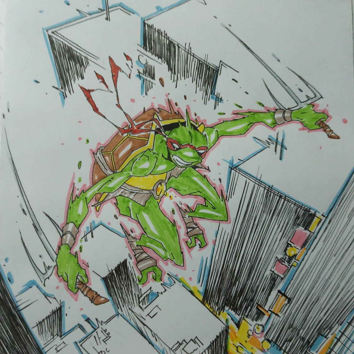 Turtles everywhere!  #TMNT #teenagemutantNinjaturtles #turtle #NinjaTurtles #Ninja #cartoon #animation #raphael #comics #comic #fanart #sketch #Sketching #drawing #artwork #illustration #illustrationart #ArtistOnTwitter #artist @boomstudios @TMNT