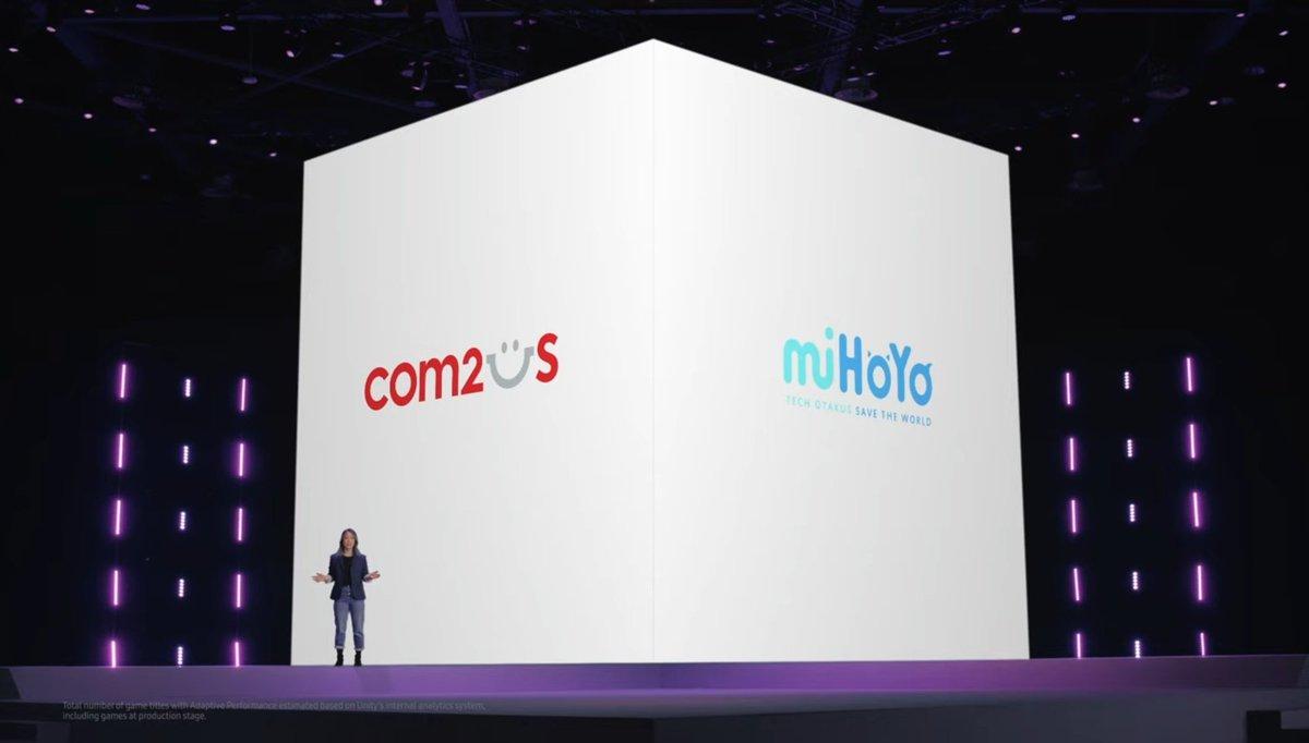 El nuevo #GalaxyS21 tiene una alianza con MiHoyo 😳 ¡La tecnología ya no tiene límites! #Unpacked2021