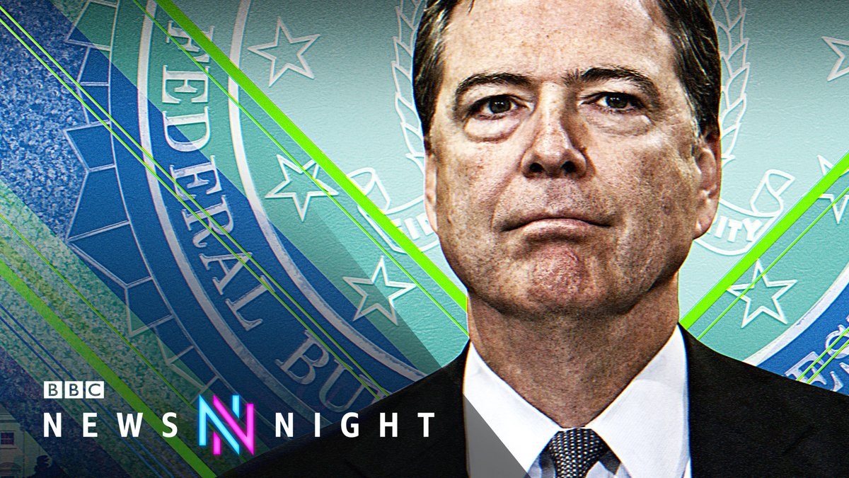 """""""Donald Trump belongs in jail.""""  This week, ex-FBI Director James Comey spoke to @Maitlis about the second impeachment of President Trump, the MAGA movement and how he believes Joe Biden should """"consider"""" pardoning Donald Trump  FULL INTERVIEW:   #Newsnight"""