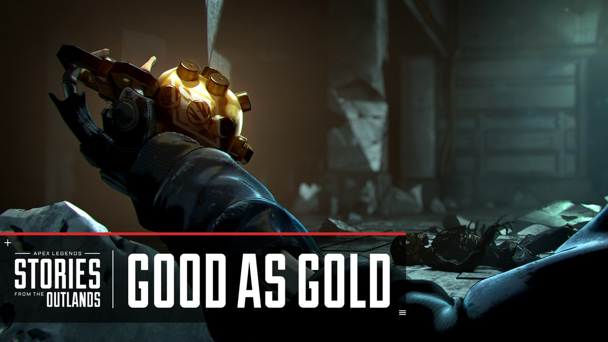 Tune in tomorrow, Jan 18, at 8am PT to see the latest in our Stories from the Outlands series: Good as Gold.   👀 :