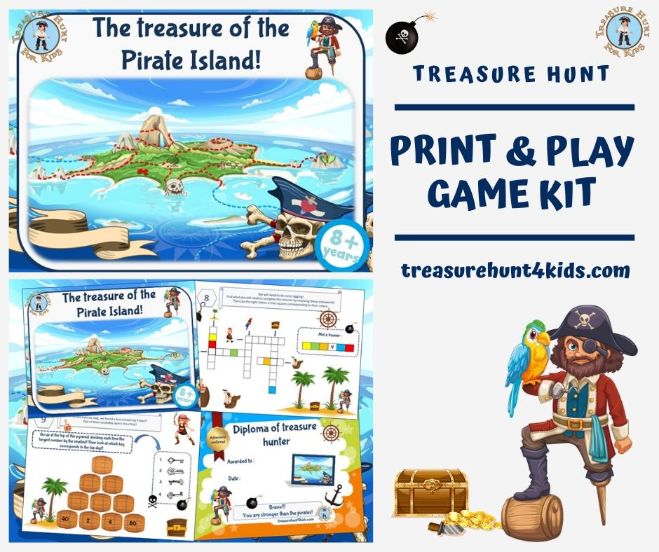 No pirate birthday party would be complete without a treasure hunt! Children with have a blast following one pirate treasure hunt clue to the next until they reach the final treasure! https://t.co/JUUI2L0Ydh #pirate #game #challenge #inquiry #treasurehunt #holiday #family #child https://t.co/fw5tOon1A7