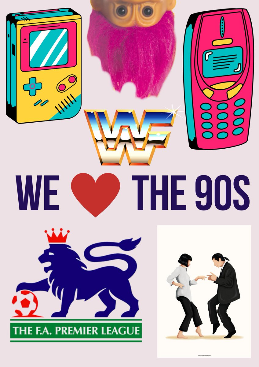 Tell us your favourite thing about the 90s. What do you miss about this decade? Let us know in the comments below. #Retro #90sLove