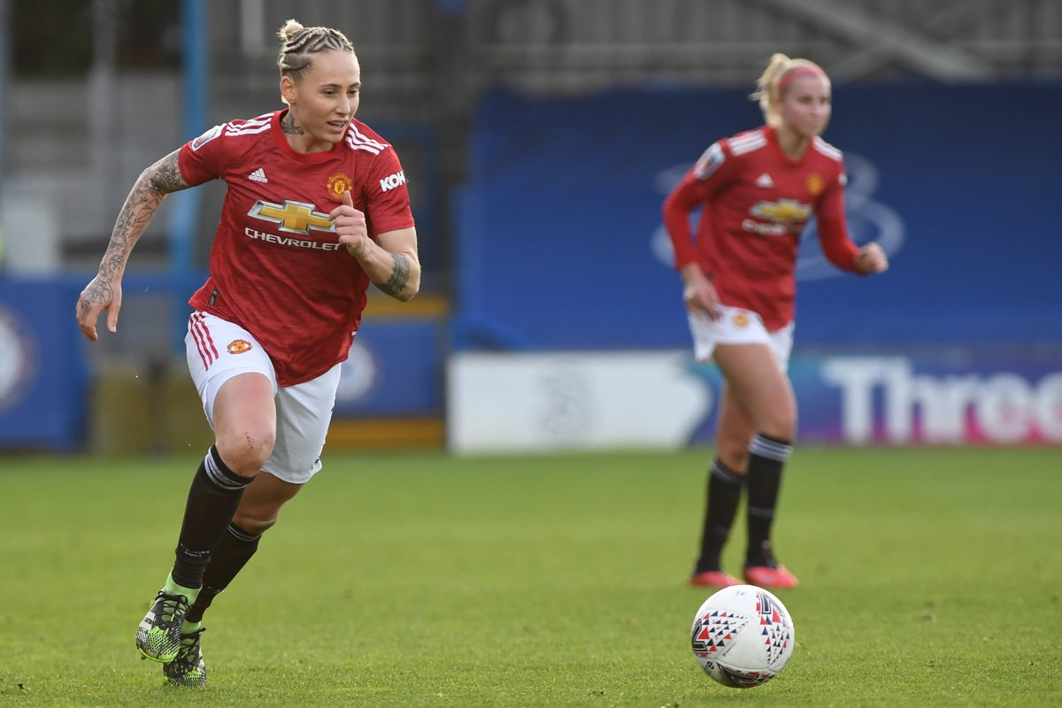 🔟 minutes left... COME ON UNITED! 🗣  #MUWomen #BarclaysFAWSL