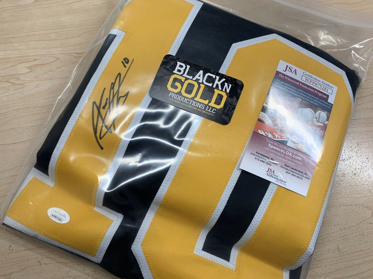 Our @BlackNGoldPod records episode 212 very soon and today is the day we give away a hand signed #NHLBruins Anders Bjork Jersey to one of our @Patreon members.  If you want to be eligible, please go to  and donate just $1 per episode.  #HockeyTwitter #NHL