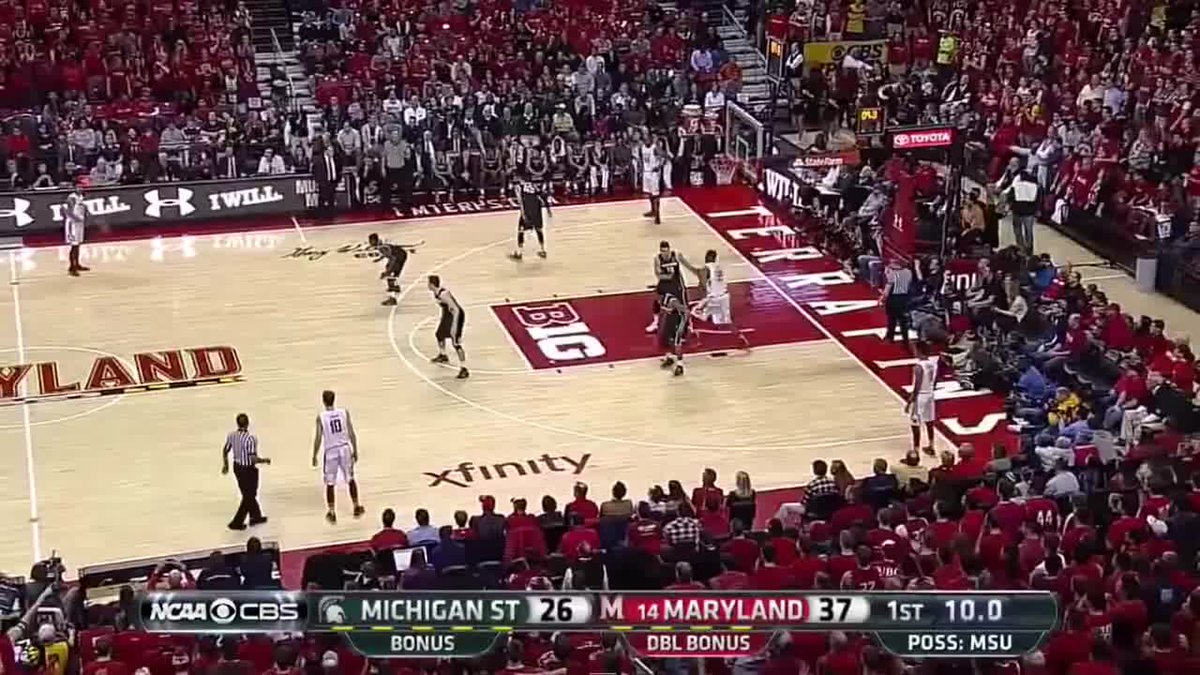 RT @TerrapinHoops: Jan. 17, 2015  Melo crossed over the entire state of Michigan. https://t.co/PGXyuYhEO5