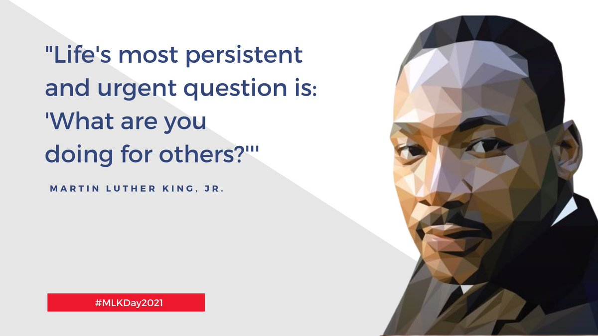 Thousands are honoring Dr. King's memory today through service. recognizing that our individual well-being is inextricably linked to the well-being of others. #MLKDay