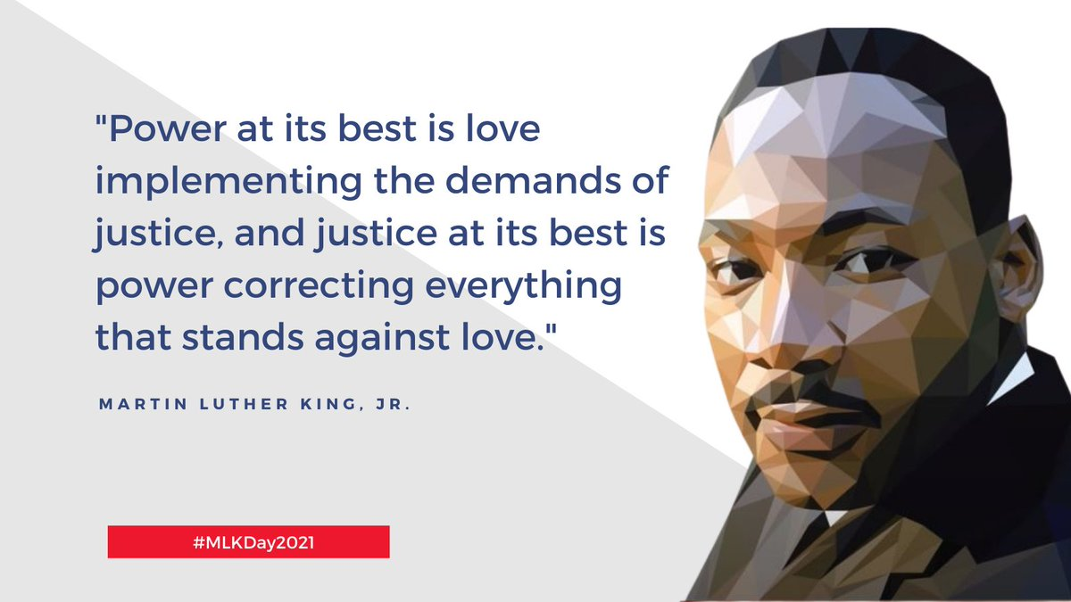As we reflect on MLK's legacy, let's also reflect on how to actively participate in dismantling the social structures that cause inequity. We can both help those at risk of falling through the cracks + ask ourselves why anyone is so perilously close to the cracks at all. #MLKDay