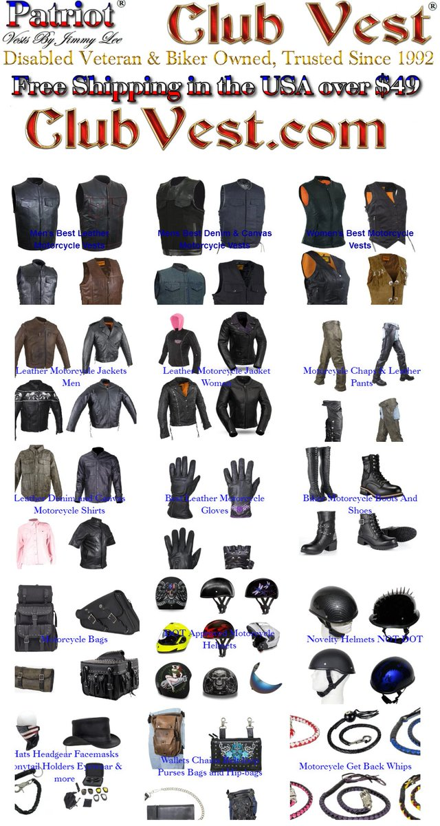 Billion dollar companies already have billions. Shop at a #biker & #veteranowned #smallbusiness for all your #motorcycle #leather needs, FAST #freeshipping over $49 TRUSTED since 1992, 5 STAR #reviews at