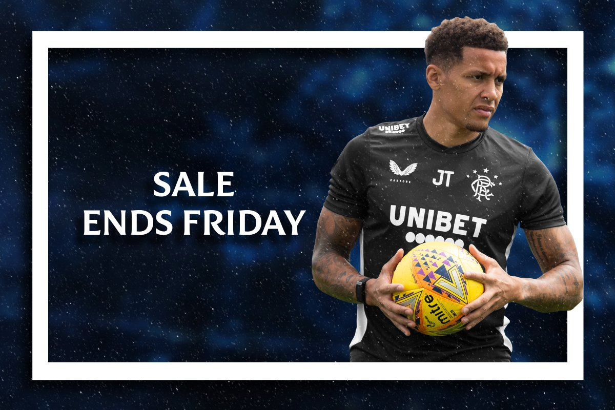 ⏰ The Rangers Store Winter sale – ending soon!  👉 It's the last few days to access some of the great offers in The Rangers Store Winter Sale.  🛍️ https://t.co/90GE81K0ze https://t.co/YDkzPn0P40