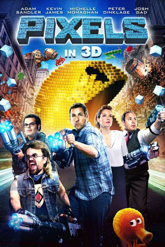 All you need to know about Happy Madison's nostalgia video game movie Pixels is that Kevin James plays the President of the United States:   ....... ....... #happymadison #adamsandler #pixels #pixelsmovie #kevinjames