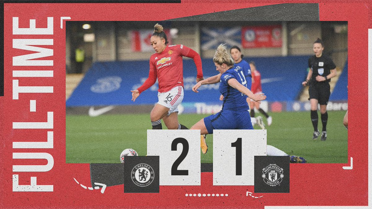 Our first defeat of the season.  #MUWomen #BarclaysFAWSL