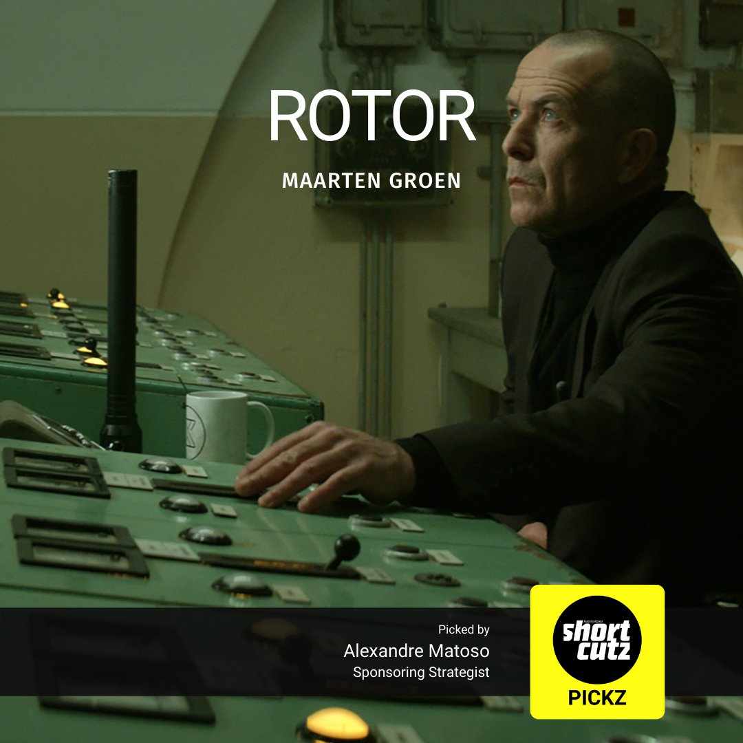 Alexandre Matoso, Shortcutz Amsterdam's Sponsoring Strategist, picked ROTOR directed from Maarten Groen as his favourite short film from our online catalogue: https://t.co/5sQ0iYir7I  Check out every other day our team's favourite short films. #ShortcutzAmsterdam #watch https://t.co/DjOIfHG0m7