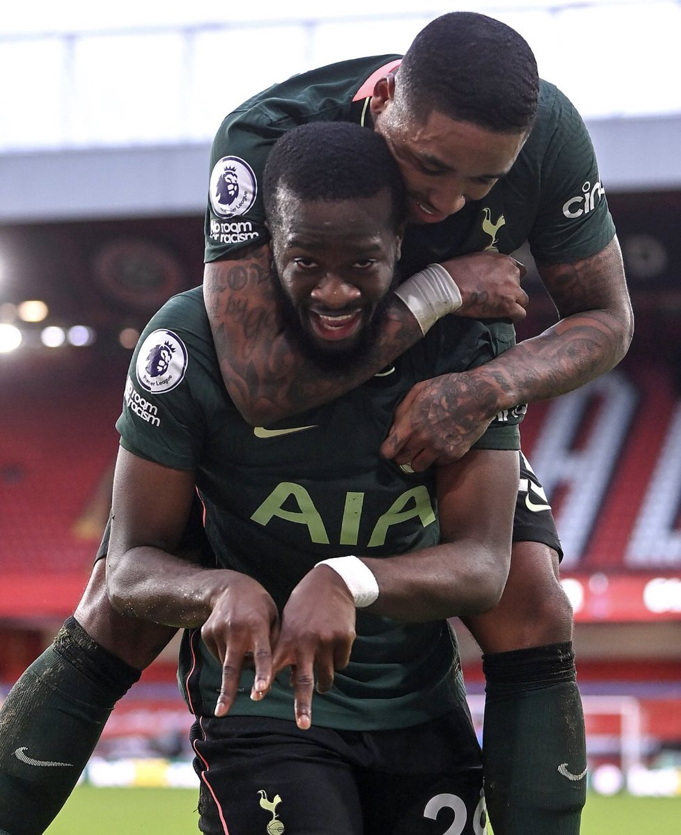 I can't get over how good Ndombele is at football.   Tottenham's midfield maestro. 🇫🇷 🤩   #THFC #COYS